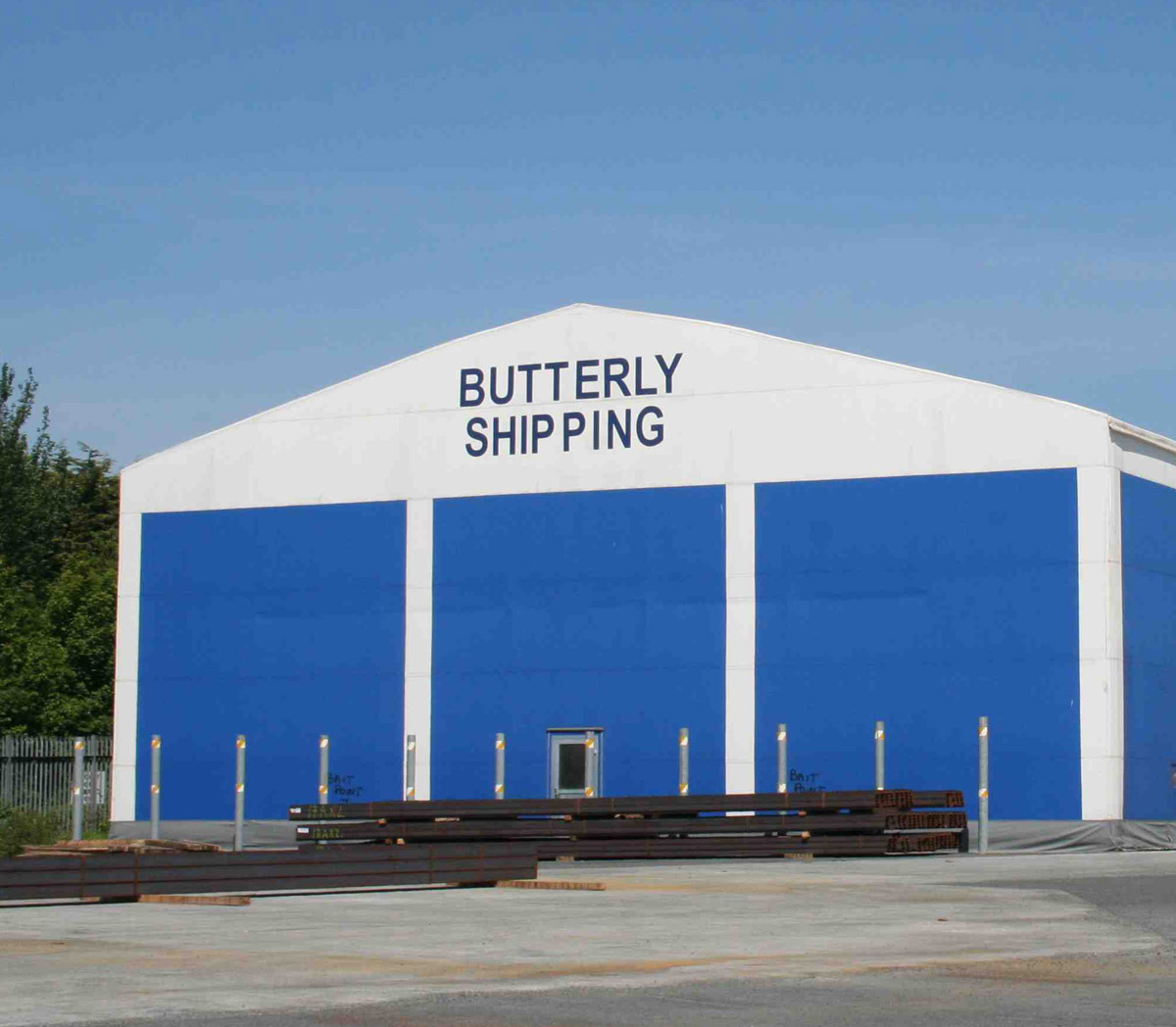 Butterly Shipping storage warehouse