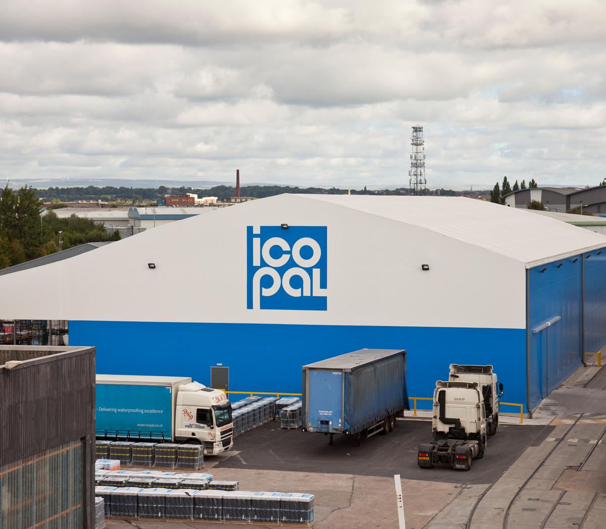 BMI Icopal warehouse