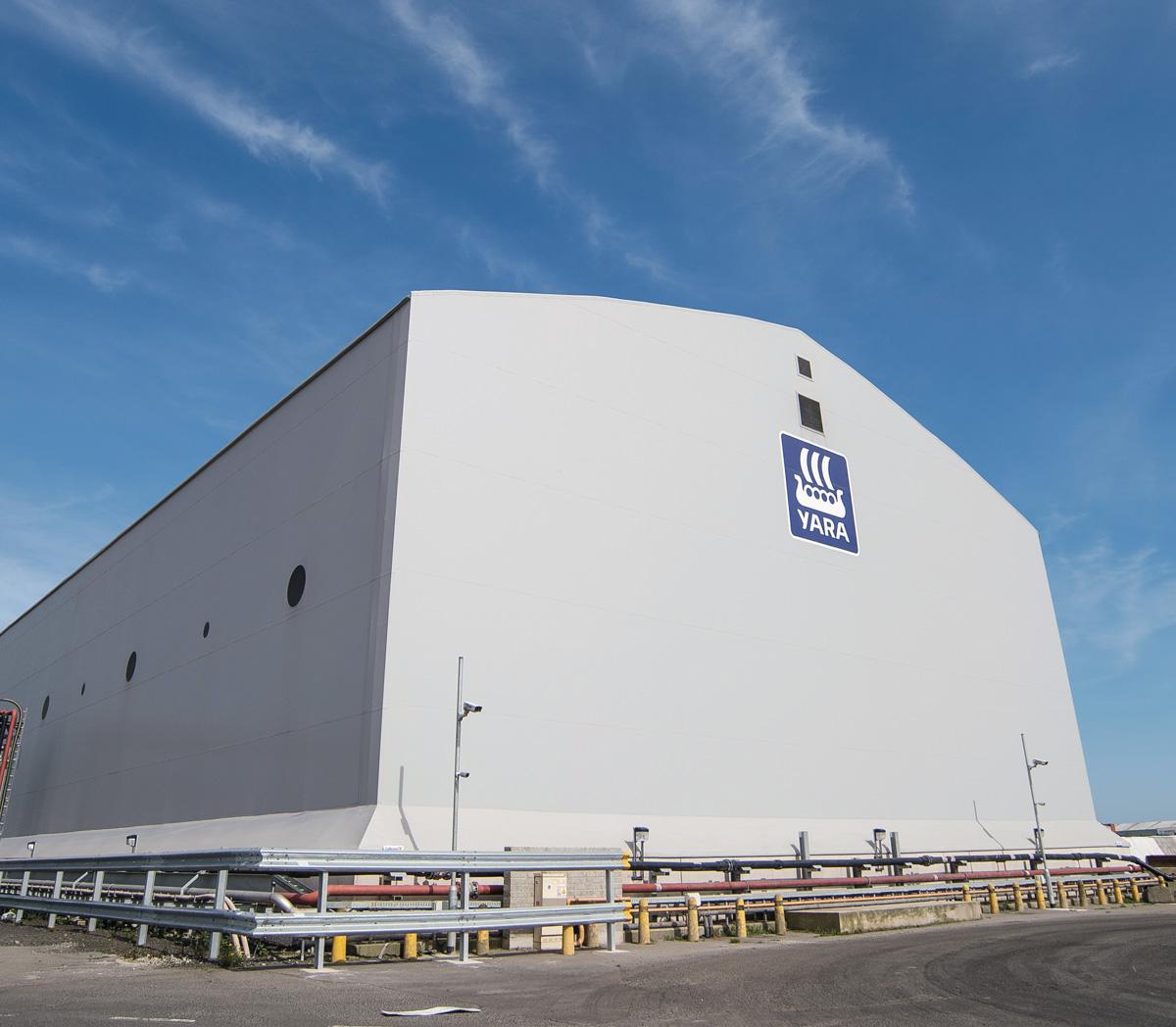 Yara UK Limited storage facility