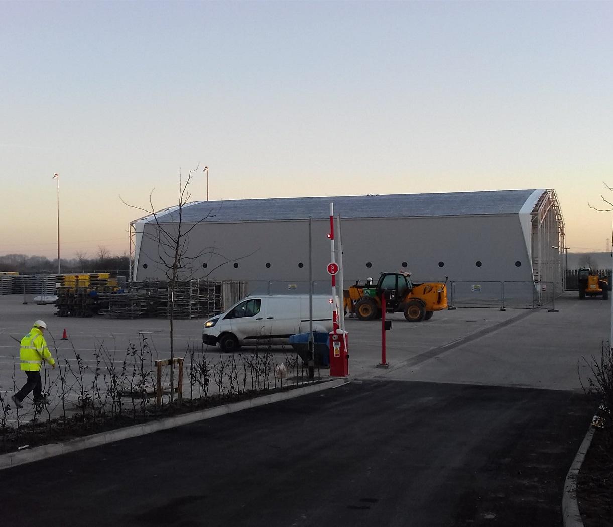 Warehouse facility for international formwork company