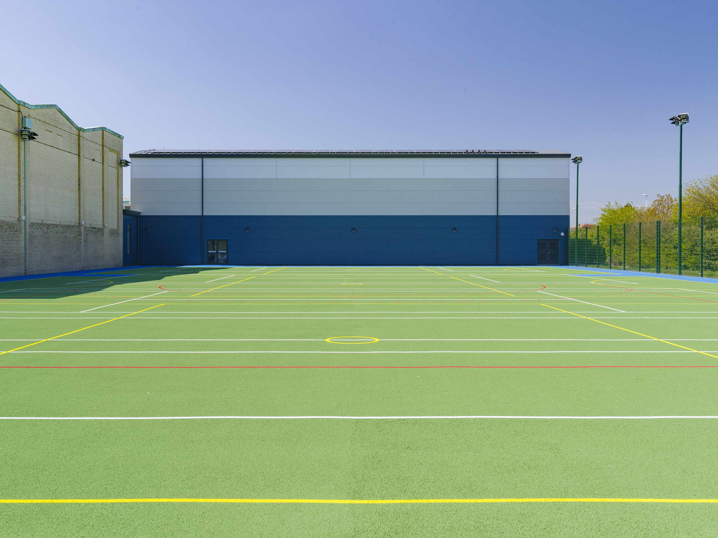 Delight at Durrington High as Collinson completes new £1.73m sports facility