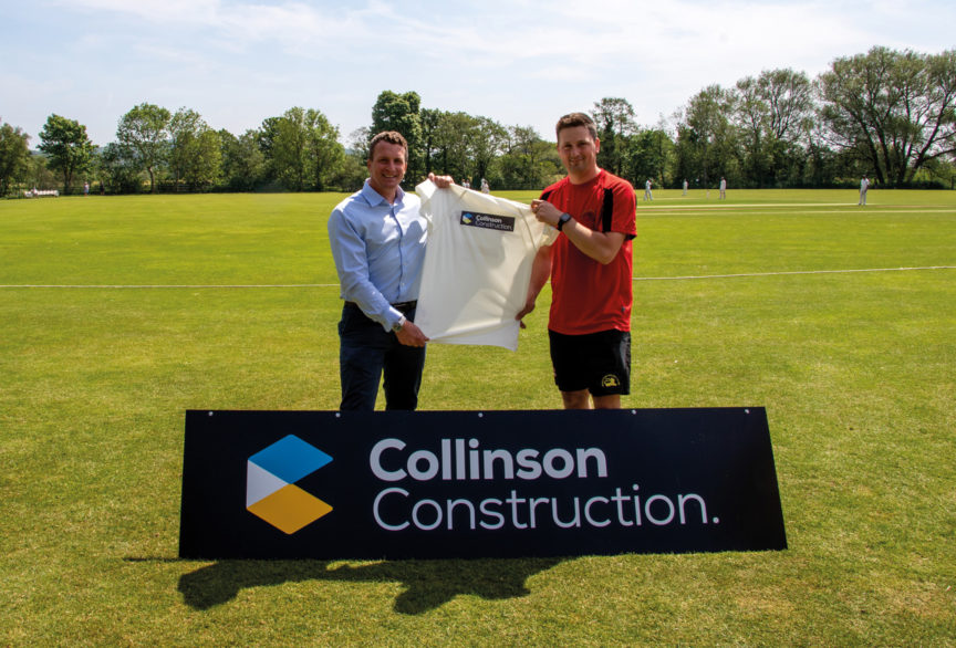 Garstang CC youngsters bowled over by construction firm's support